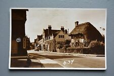 Church Street Steyning, Hole Punched, Postcard Size Photo