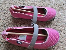 NEW TEVA PINK MARY JANE SHOES BIG GIRLS 6 WOMENS 7-7.5 MUSH FRIO   FREE SHIP