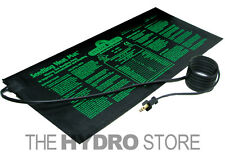 "Hydrofarm Heat Mat 10"" x 20"" 17W for 1 Flat - Clone Seed Germination 9"" x 19.5"""