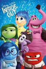 """INSIDE OUT - DISNEY / PIXAR MOVIE POSTER / PRINT (CHARACTERS) (SIZE 24"""" x 36"""")"""