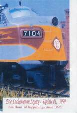 Erie Lackawanna Legacy Update Number 1 1999 DVD FAs Trainmasters FTs