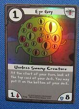 Adventure Time Card Wars Foil EYE GUY USELESS SWAMP CREATURE RARE