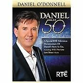 DANIEL O'DONNELL AT 50 ORIGINAL PAL DVD (R0) A SPECIAL RTE TV DOCUMENTARY NEW