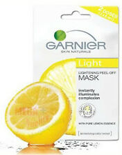 GARNIER NATURAL LIGHT WHITENING LIGHTENING PEEL OFF FACE MASK