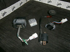 YAMAHA YQ100 YQ 100 AEROX 2001 01 cdi unit ht coil REGULATOR RECTIFIER relay