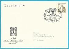 Deutschland aus 1978 Ganzsachenbriefdrucksache mit Sonderstempel Berlin!
