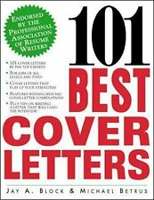 101 Best Cover Letters, Betrus, Michael, Block, Jay A., , Book, Good