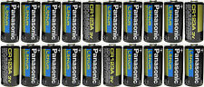 20  Panasonic CR123 CR123A 123 Lithium Batteries Brand New Made In USA EXP 2024