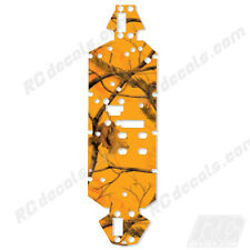 Losi 8ight 2.0 4WD Buggy Chassis Protector Graphics Realtree Blaze Camo Losa0804
