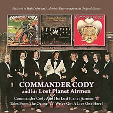 Commander Cody & His Lost Planet Airmen/Tales From - Commander  (2016, CD NIEUW)