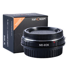 Adapter Ring For Minolta MD Lens to Canon EOS EF 5D 7D 550D Optical Glass