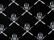 STAR WARS COMIC / MOVIE  100% COTTON FABRIC  GLOW IN DARK  DARTH VADER  YARDAGE