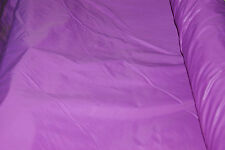"Job Lot x 10 m en Nylon Magenta Violet non vernies tissu 58 ""v.cheap crafts"