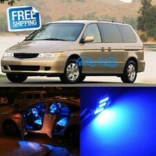 9x Blue LED Replacement Light Interior Bulb Package for Honda Odyssey 1999-2004