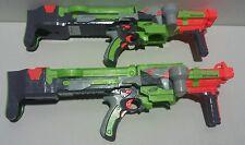 2 x New Nerf Vortex Nitron full-auto XLR disc blasters ( Bare )