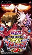 Used PSP Yu-Gi-Oh! Duel Monsters GX: Tag Force 3  Japan Import ((Free shipping))
