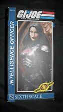 "Sideshow Collectibles G.I. Joe 1/6 Sixth Scale Figure Cobra Baroness Spy 12"" NEW"