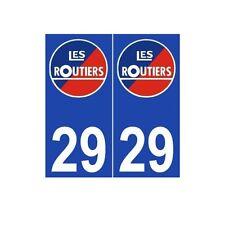 Les routiers numéro au choix sticker autocollant plaque blason armoiries sticker
