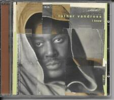 CD ALBUM 13 TITRES--LUTHER VANDROSS--I KNOW--1998