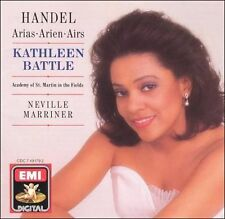 Handel: Arias Kathleen Battle   Audio CD   LIKE NEW  DB1568