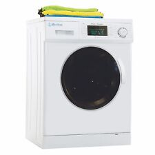 All-in-One 1.6 cu. ft. Compact Combo Washer and Electric Dryer with Optional Con