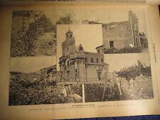 1894 TERREMOTO IN SICILIA  LERBATI ACI SANT'ANTONIO CANTINA FIANDACA