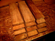 "TWELVE (12) KILN DRIED PIECES OF FEQ TEAK LUMBER WOOD ~12"" X 3"" X 7/8"""
