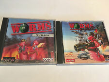 2 Games for PC - Worms & Worms Reinforcements - Carnage Battle