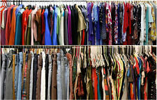 50PC PLUS SIZE Mixed Women's Wholesale Clothing Lot RESALE THRIFT BOUTIQUE