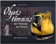 livre d'art : objets témoins de l'histoire de france / ETANCHE