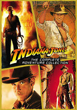 The Complete Indiana Jones Widescreen DVD Film Collection English French Spanish