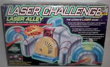 Toymax 1997 LASER CHALLENGE Laser Alley Lazer Blasting Gallery NEW Ultimate Game