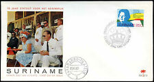 Suriname 1969 Statute Of The Kingdom FDC First Day Cover #C29314