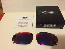 NEW Oakley - Racing Jacket - Replacement lens set: +Red Iridium Vented