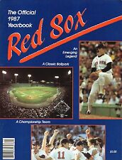 Roger Clemens--1987 Boston Red Sox Yearbook