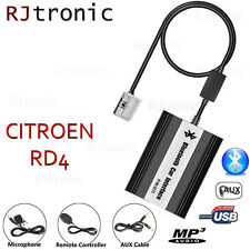 INTERFACE USB BLUETOOTH AUDIO MP3 AUTORADIO CITROEN C5