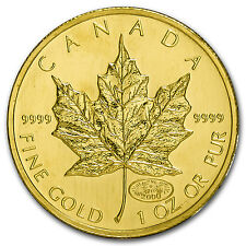 2000 Canada 1 oz Gold Maple Leaf Fireworks Privy BU - SKU #88203