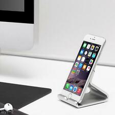 Universal Aluminum Alloy Cell Phone Desk Stand Holder For iPhone Samsung Tablet