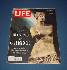 LIFE MAGAZINE JANUARY 4 1963 GREECE CUBA PHOTOS MONA LISA