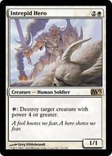 INTREPID HERO M13 Magic 2013 MTG White Creature—Human Soldier RARE
