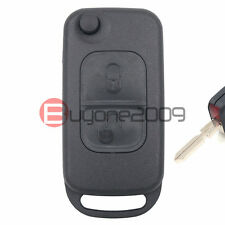 MERCEDES-BENZ 2 Button Switchblade HU39 FOLDING KEY REMOTE CASE SHELL