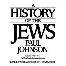 A History of the Jews by Paul Johnson CD 2007 Unabridged