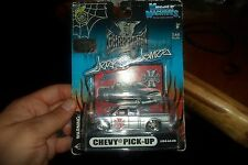 Muscle Machines Jesse James CHEVY PICK-UP 1/64 DieCast  Model  #05