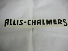 """Allis Chalmers Decal Black 2 1/4 """" X 23"""" Long A & S - NEW FREE SHIPPING"""