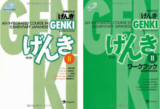 DHL Delivery GENKI 2 Integrated Course Elementary Japanese Work. And Text. 2 Set