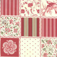 Moda FRENCH GENERAL FAVORITES Red 13600 11 Quilt Fabric By The Yard