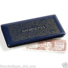 Pocket Banknotes Album Wallet 20 Pages Currency Holder Paper Money Book #1