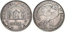 Impero soggetto campione a 1 Mark j.17 a sinistra lungimiranti Adler-di Dasio VZ