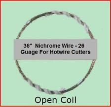 "Styrofoam Foam Blocks EPS Cutter Replacement Wire  36""  Nichrome Hot Wire Crafts"