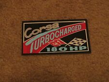 1965 CHEVROLET CORVAIR CORSA 180HP LATE PRODUCTION AIR CLEANER DECAL STICKER NEW